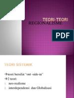 1. Teori Regionalisme