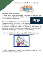 Direito e Deveres Económicos ( Do Artº.