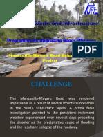 Manzanilla-Mayaro Road Presentation from PURE