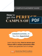 The Ultimate Campus Placement Guide - Mastering Mind Siva