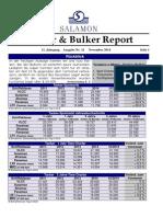 THB Salamon Tanker Bulker Report Nr 11 November 2014