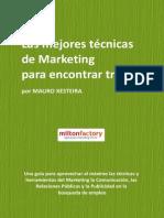 Las mejores tecnicas de marketing para encontrar trabajo - Mauro Xesteira