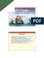 P4 PERPETAAN GEOLOGI Peralatan Pemetaan Geologi