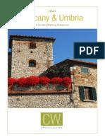 Italy Tuscany Umbria Itinerary 2014