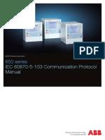 ABB Communication Protocol Manual Iec 60870-5-103