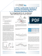 Investigation of the Lanthanide Content of Talc- and Koenenite-Containing Samples of the German Zechstein Basin