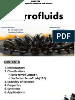 Ferro Fluid