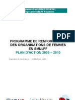 +Programme Santé USAID SENEGAL Composante SMNI/PF Paludisme