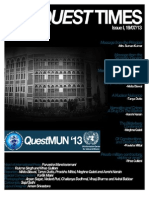 The Quest Times Issue I