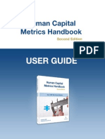 Human Capital Metrics Handbook User Guide