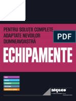 Catalog 2012 Echipamente