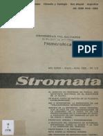 Stromata Enero Junio 1980