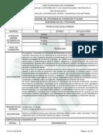 Diseño Curricular - Tecnólogo en Produccion de Multimedia
