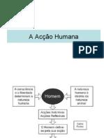 A Acção Humana