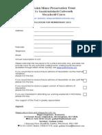 WMPT Membership Form 2015