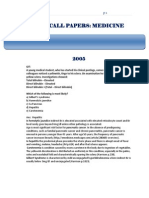 Amc Medicine 2005 to 2009