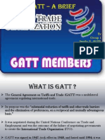 Group 1 - GATT -A Brief Introduction
