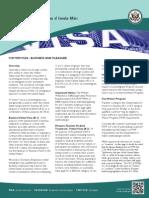 VisaFlyer March 2014 Print
