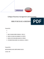 Hire Purchase Agreements