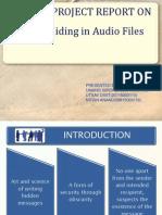 Data Hiding in Audio File