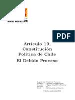 Artículo 19, Constitución Política de Chile