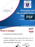 change management and communication plan