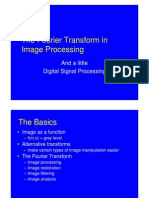 Mathematics - FourierTransform in Image Processing