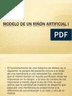 Modelo de Un Riñón Artificial I y II (1) (1)