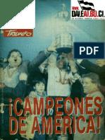 Revista Triunfo - Colo Colo Campeón Libertadores 1991