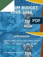Budget 2009-10