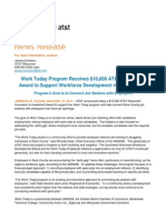 12.16.14 -- AT&T Innovation Award to Work Today Program Beloit