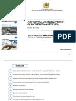 Plan National Marocain de Developpement Du Gaz Naturel Liquéfié (Gnl)