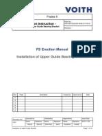 FDII-GAV03-3490-InE Upper Guide Bearing Bracket