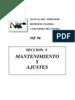MANUAL DEL OPERADOR DE RETROEXCAVADORA