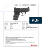 Ruger LC9s Pro Pistol