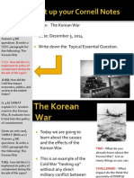 WEBNotes - Day 3 - 2014 - Korean War