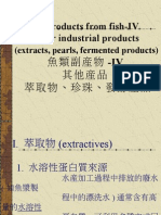 By-Products From Fish-IV Other Industrial Products