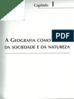 A Geografia como ciência da sociedade de da natureza