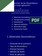 Un Breve Resumen de Geosintéticos