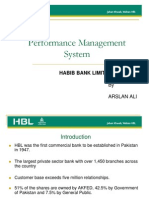 Performance Management System at HBL Ppt