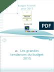 Région Bretagne. Budget primitif pour 2015
