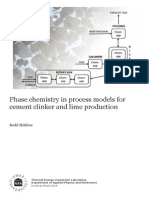 Phase Chemistry Simulation for Cement Process_ASPEN
