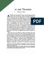 A.C. Pegis - Gilson & Thomism