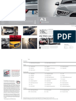 Audi A1 & S1, 3-door and Sportback Catalogue (2015, DE)
