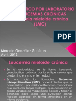 Diagnstico por laboratorio de leucemias cronicas