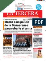 Diario La Tercera 16.12.2014