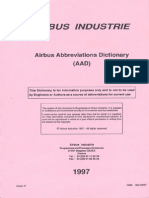 Airbus Abbreviations Dictionary