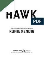 Hawk by Ronie Kendig - Excerpt