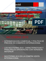 3 Incoterms e Intermed