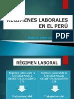 Regimen Laboral en El Peru